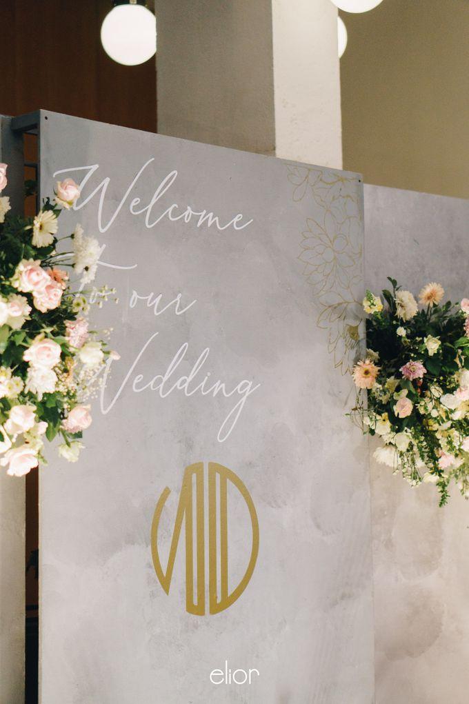 The Wedding of Novilia & Didik by Elior Design - 016