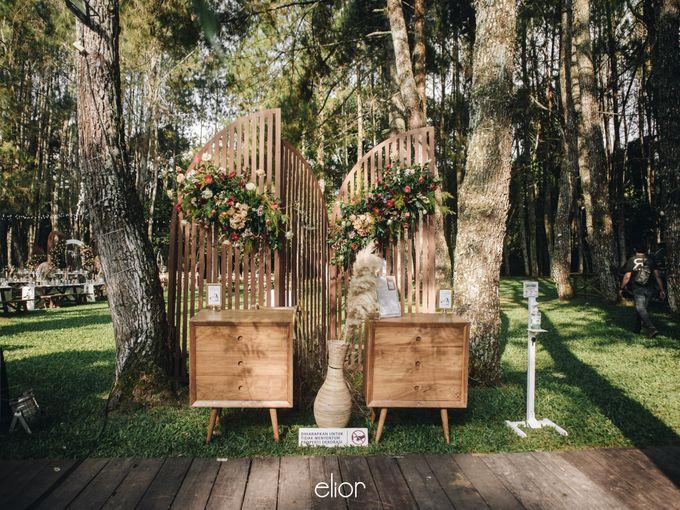 The Wedding of Nysha and Fariz by Elior Design - 039