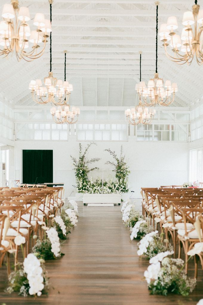 The Wedding Of David & Felicia by Elior Design - 003