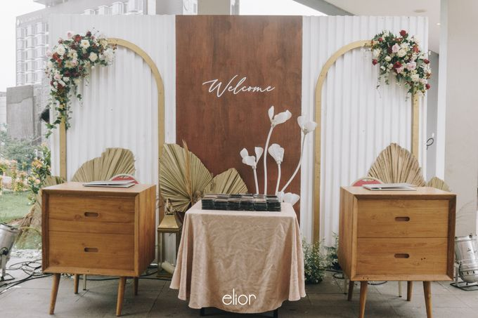 The Wedding of Steven & Evelyn by Elior Design - 022