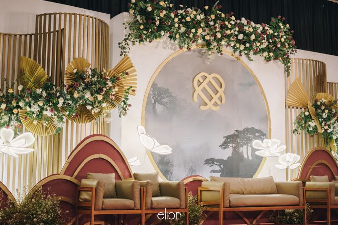 The Wedding of Eduard & Anastasia by Elior Design - 006
