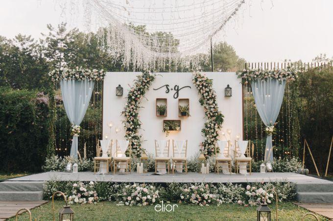 The Wedding of Stephan & Gabby by Elior Design - 027
