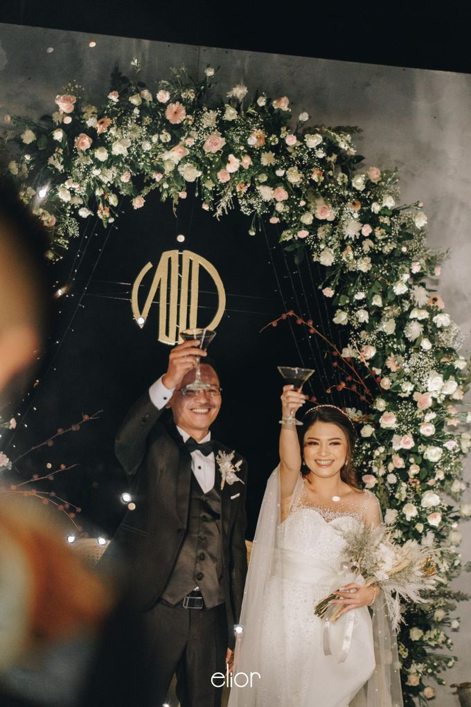 The Wedding of Novilia & Didik by Elior Design - 018
