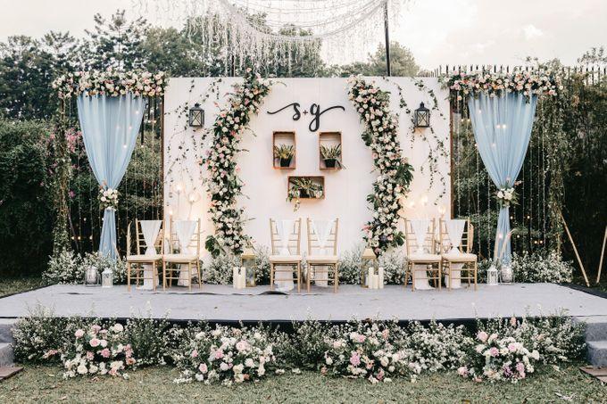 The Wedding of Stephan & Gabby by Elior Design - 028