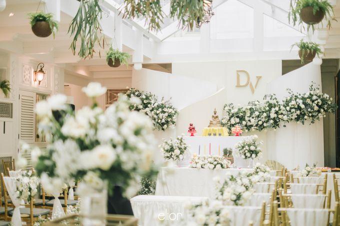 The Wedding of Darius and Verliana by Elior Design - 001