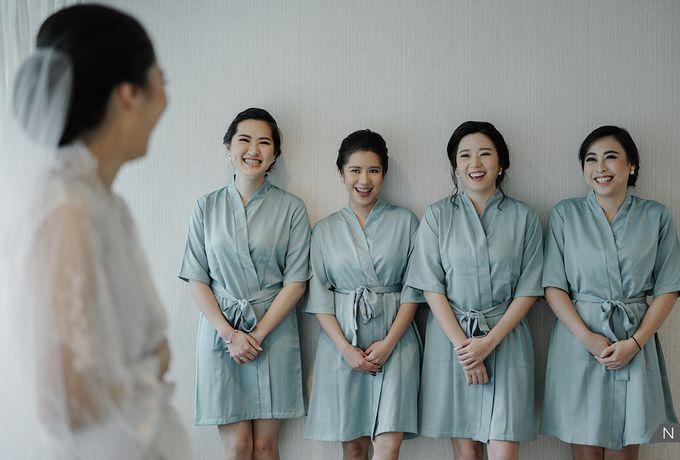 Felix & Hanna Wedding by Shangri-La Hotel - 004