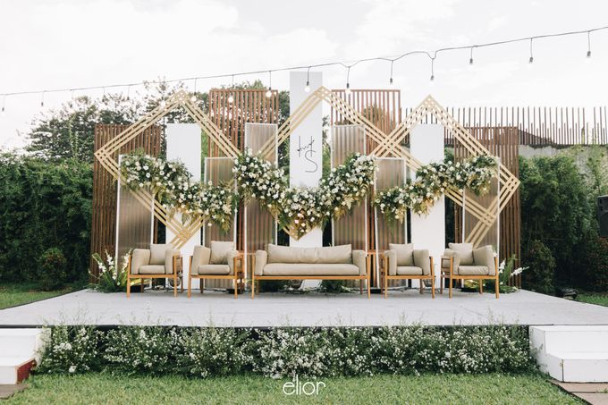 The Wedding of Henry and Stefanie by Elior Design - 004