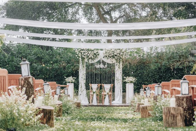 The Wedding of Nico & Evelyn by Elior Design - 016