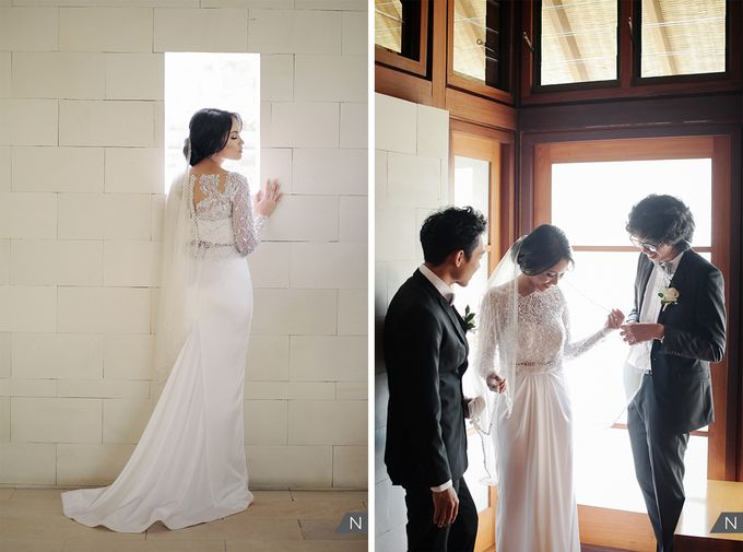 Billy & Rachel Wedding by Wong Hang Distinguished Tailor - 004