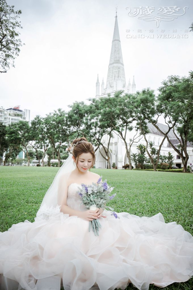 Makeup and Styling of our Brides by Cang Ai Wedding - 015