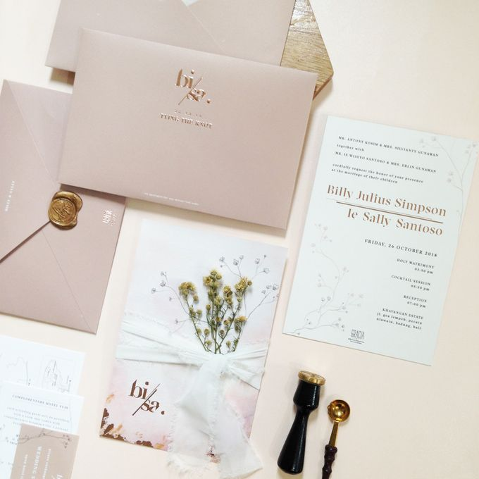 Billy & Sally Wedding Invitation by Khayangan Estate - 005