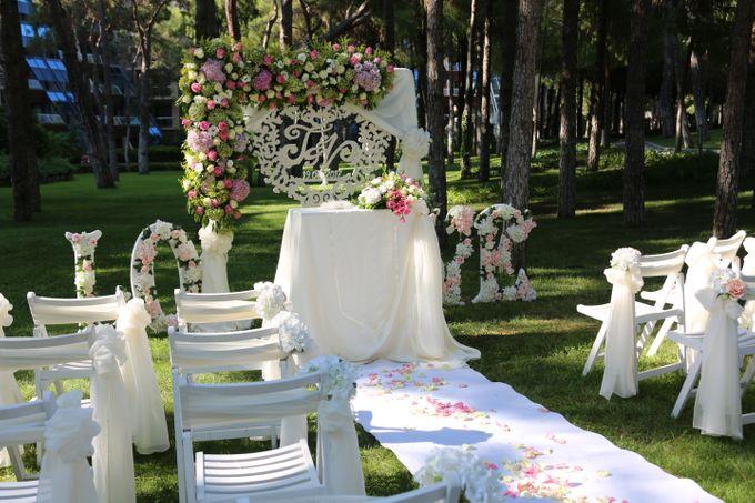 Tatyana & Vladimir Kazakh Wedding in Antalya by Wedding City Antalya - 005