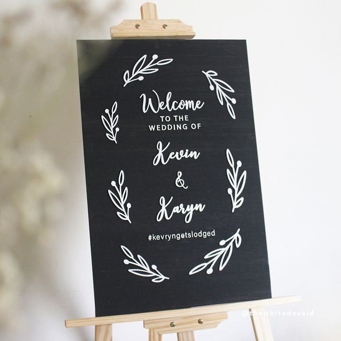 Wedding Sign by The White Dove - 008