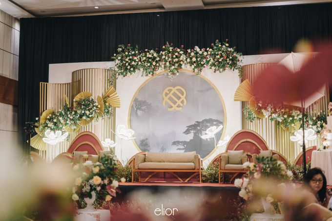 The Wedding of Eduard & Anastasia by Elior Design - 001