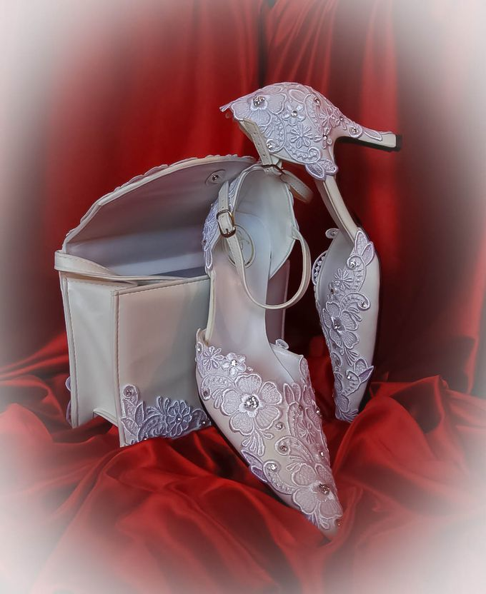 BRIDAL SHOES by Pamela Falli - 026