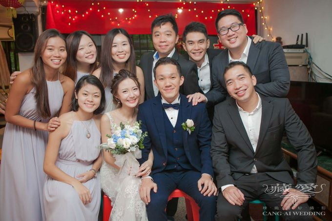 Actual Day by Cang Ai Wedding - 013