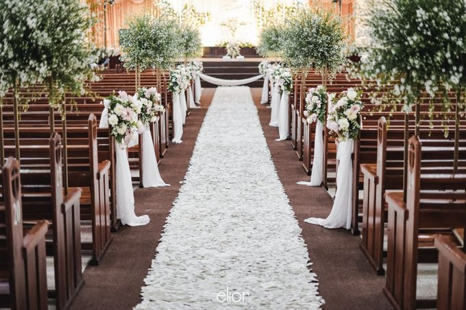 The Wedding of Victor and Rachel by Elior Design - 005