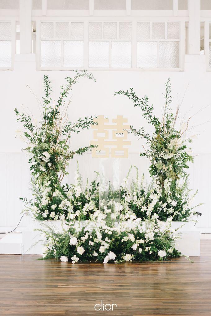The Wedding Of David & Felicia by Elior Design - 004