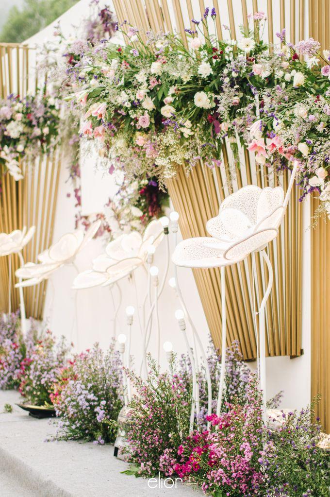 The Wedding of Eriely Lukman by Elior Design - 003