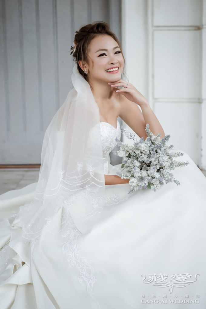 Makeup and Styling of our Brides by Cang Ai Wedding - 021