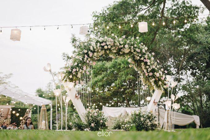 The Wedding of Monique & Gabriel by Elior Design - 003