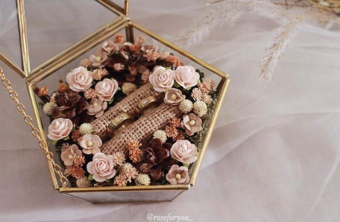 Ring Box by Rose For You - 004