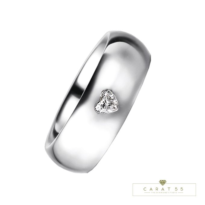 Contemporary Wedding Bands by Carat 55 - 004