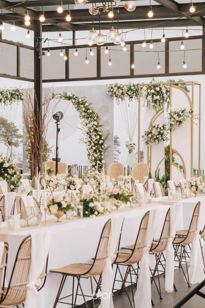 The Wedding of Novilia & Didik by Elior Design - 019