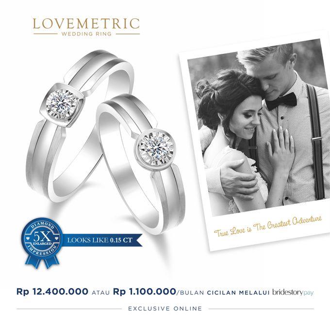 Wedding Ring Lovemetric Series by Adelle Jewellery - 003
