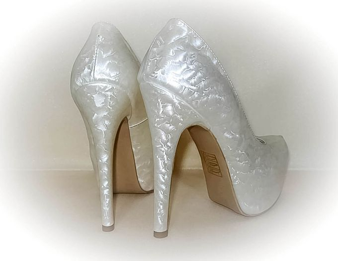 BRIDAL SHOES by Pamela Falli - 012