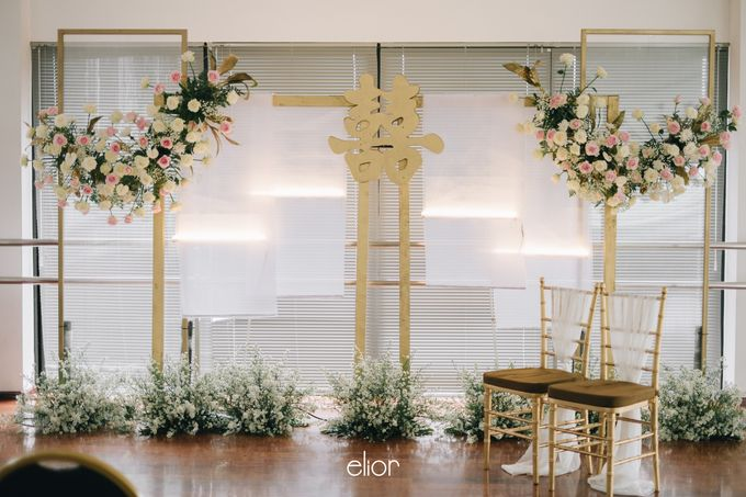 The Wedding of David & Bianca by Elior Design - 037