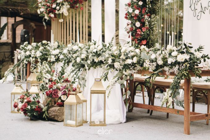The Wedding of Gian & Angel by Elior Design - 025