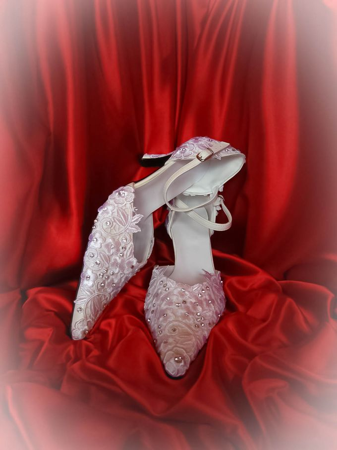 BRIDAL SHOES by Pamela Falli - 019
