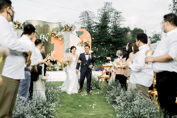 The Wedding of Hansen and Nerisa by Elior Design - 005