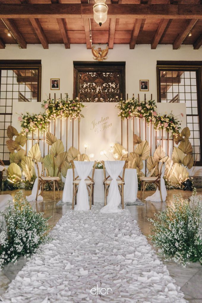 The Wedding of Fira & Jordan by Elior Design - 032