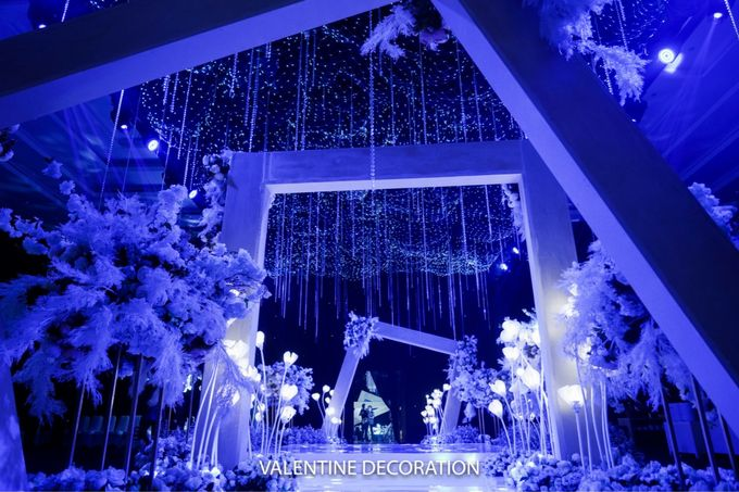 Jason & Devina Wedding Decoration by Valentine Wedding Decoration - 033