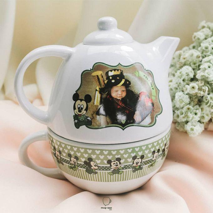 TEKO SUSUN BABY BORN by Mug-App Wedding Souvenir - 001