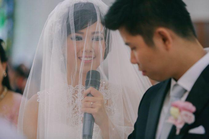 Maurice & Natasya Jakarta Wedding by Ian Vins - 024