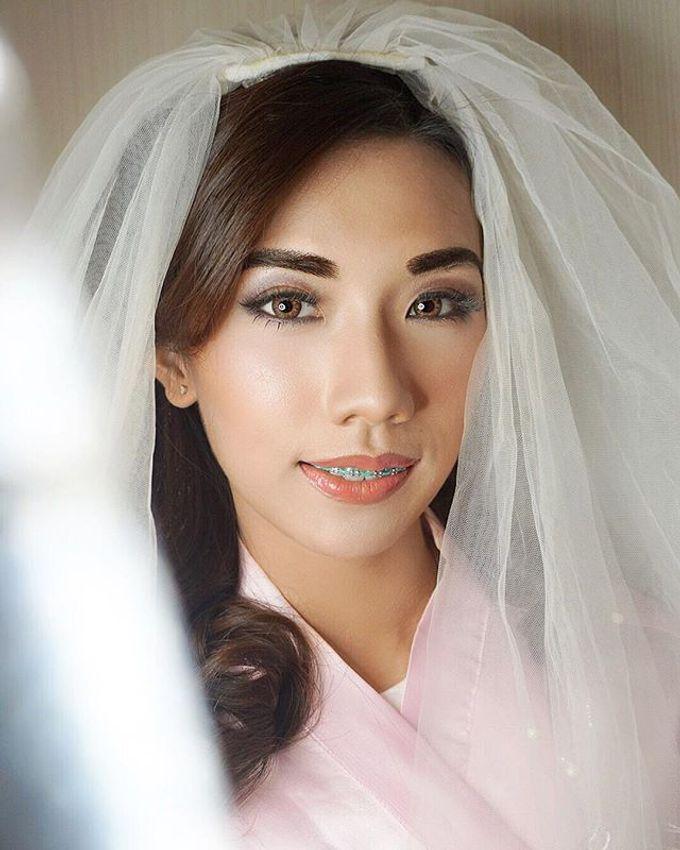 Airbrush Bride Makeup by MRS Makeup & Bridal - 003