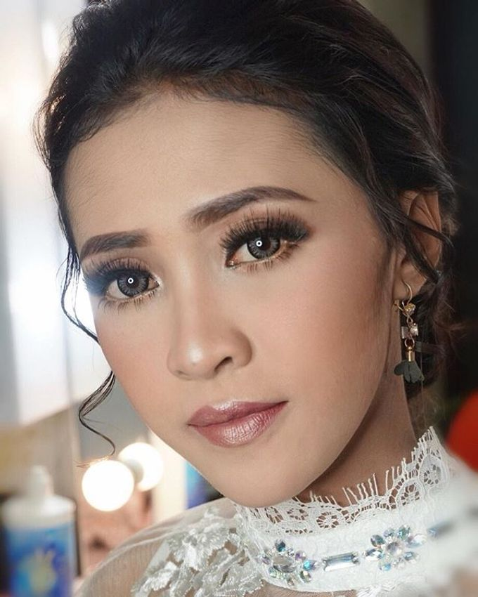 Wedding Make Up  by shabrinamakeup - 003