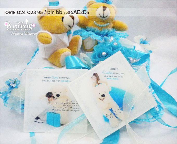 Benny & Rachel Stationery set by Kairos Wedding Invitation - 001