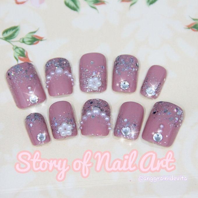 Fake Nails by Story of Nailart - 006