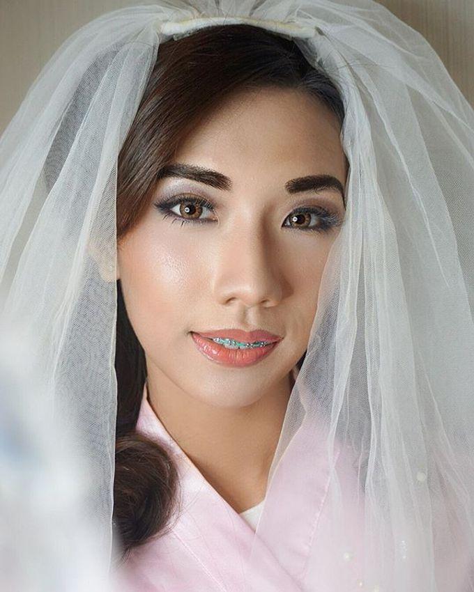 Airbrush Bride Makeup by MRS Makeup & Bridal - 001