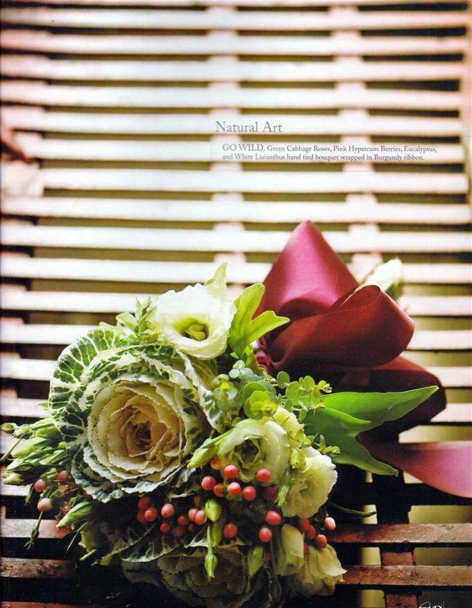 Bouquet of Flowers by Abhie Tan of Natural Art Works by Natural Art Flowers and Decors - 004