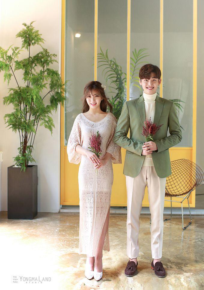 Korea Pre-Wedding Photoshoot - Studio 29 by Willcy Wedding by Willcy Wedding - Korea Pre Wedding - 025