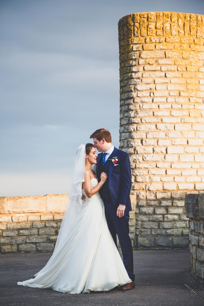 Clare and Ben's Marine Theatre wedding, Lyme Regis by Andrew George Photography - 040
