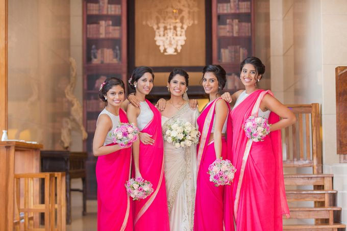 Wedding of Roshani & Charith by DR Creations - 020