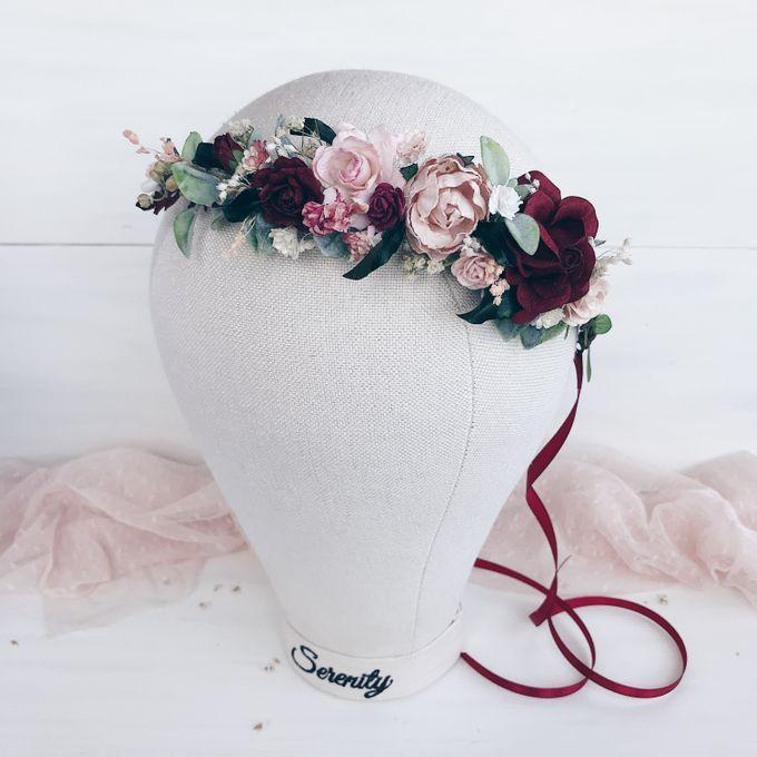 Bridal Flower crown by Serenity Wedding - 005