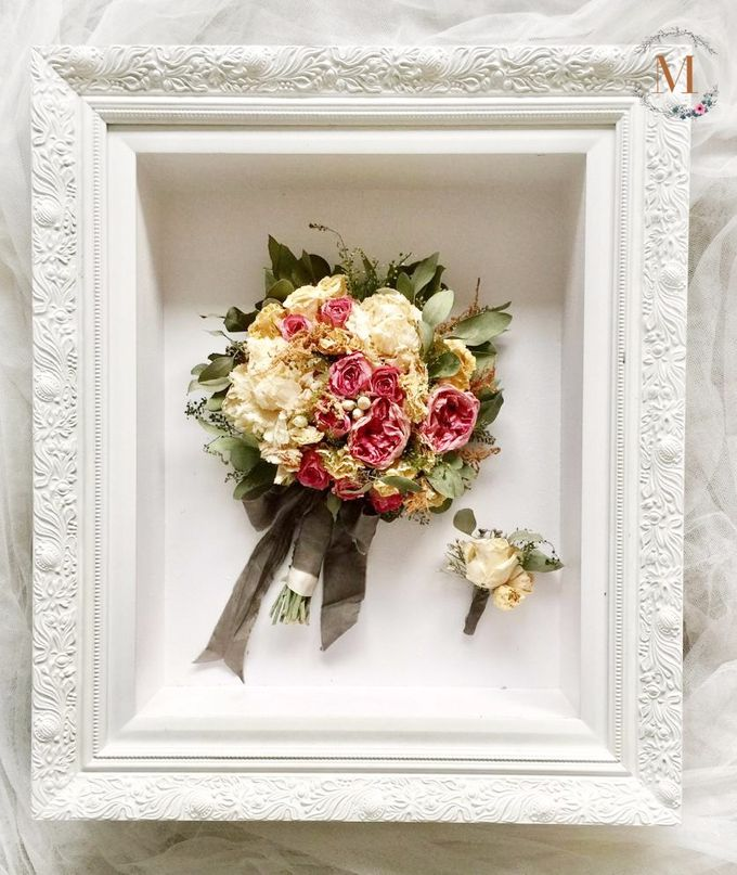 The Bouquet 40x50 by Magnolia Dried Flower - 001