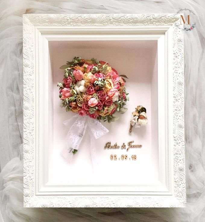The Bouquet 40x50 by Magnolia Dried Flower - 002